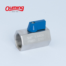 Mini Ball Valve Female Thread