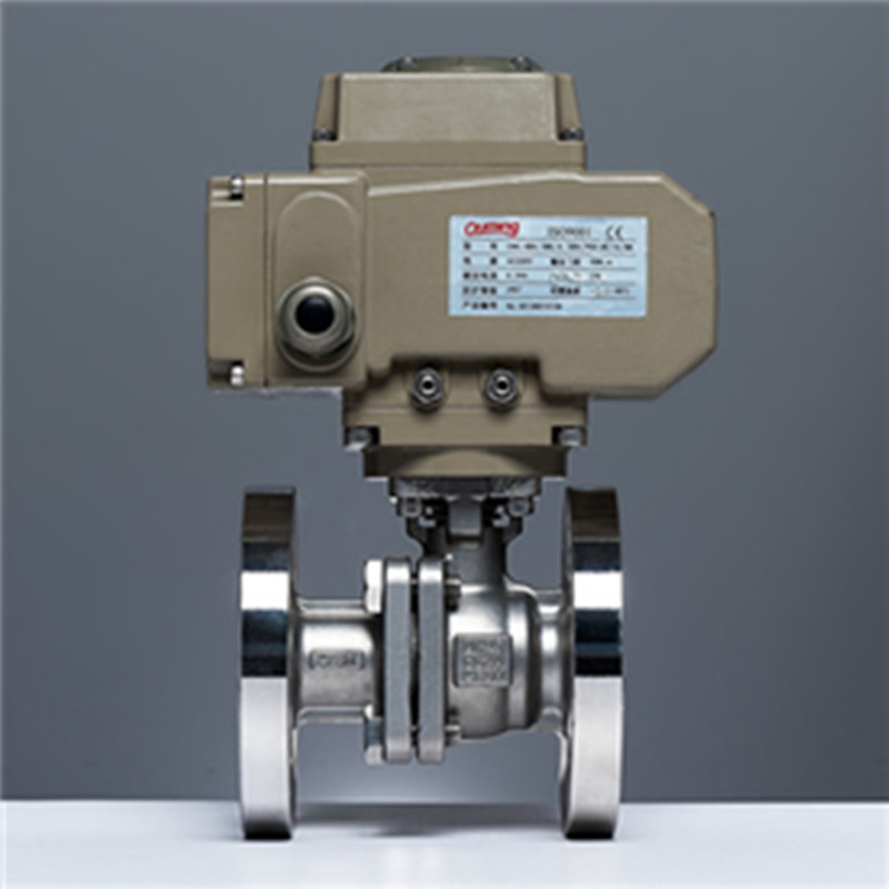 Electric Flange Ball Valve